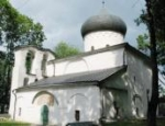 Реставрационные работы начались в Спасо-Преображенском соборе Мирожского монастыря в Пскове