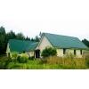 Дом с удобствами на хуторе,  баня,  гараж,  хозяйство,  1 гектар земли